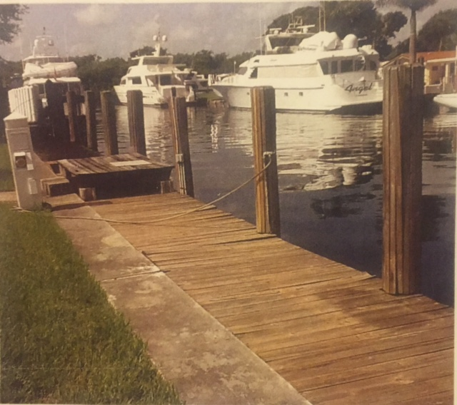 dock for rent in Ft. Lauderdale