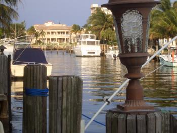 dock for rent in Deerfield Beach